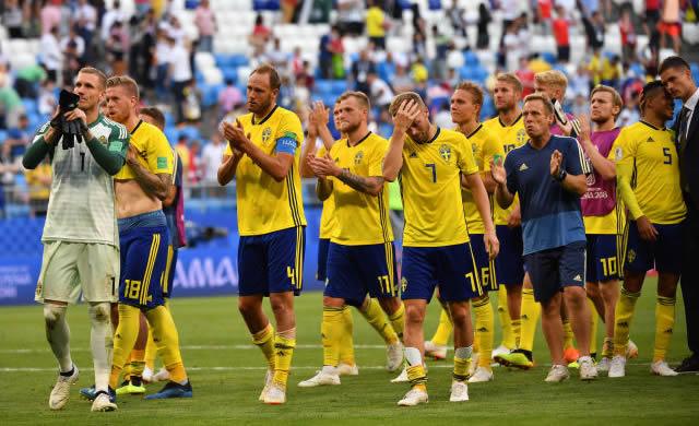 世界杯|瑞典队无缘四强