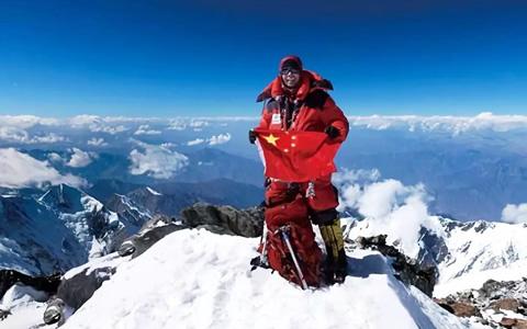 中国实现人类登山探险终极梦想第一人:每次攀登都是与生命的对话