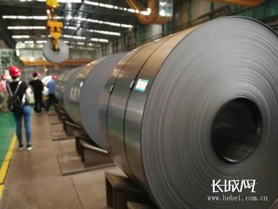 沧州中铁装备制造材料有限公司车间一角。长城网 郭洪杰 摄