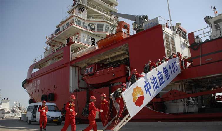 中国石油:打造可信赖的海上应急力量