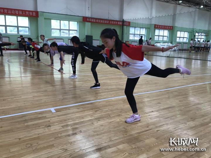 河北省冬季项目苗子运动员集训在张家口举行