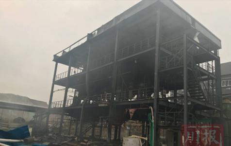 7.12江安县恒达公司发生爆燃重大事故
