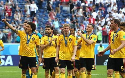 比利时胜英格兰 获历史最佳战绩