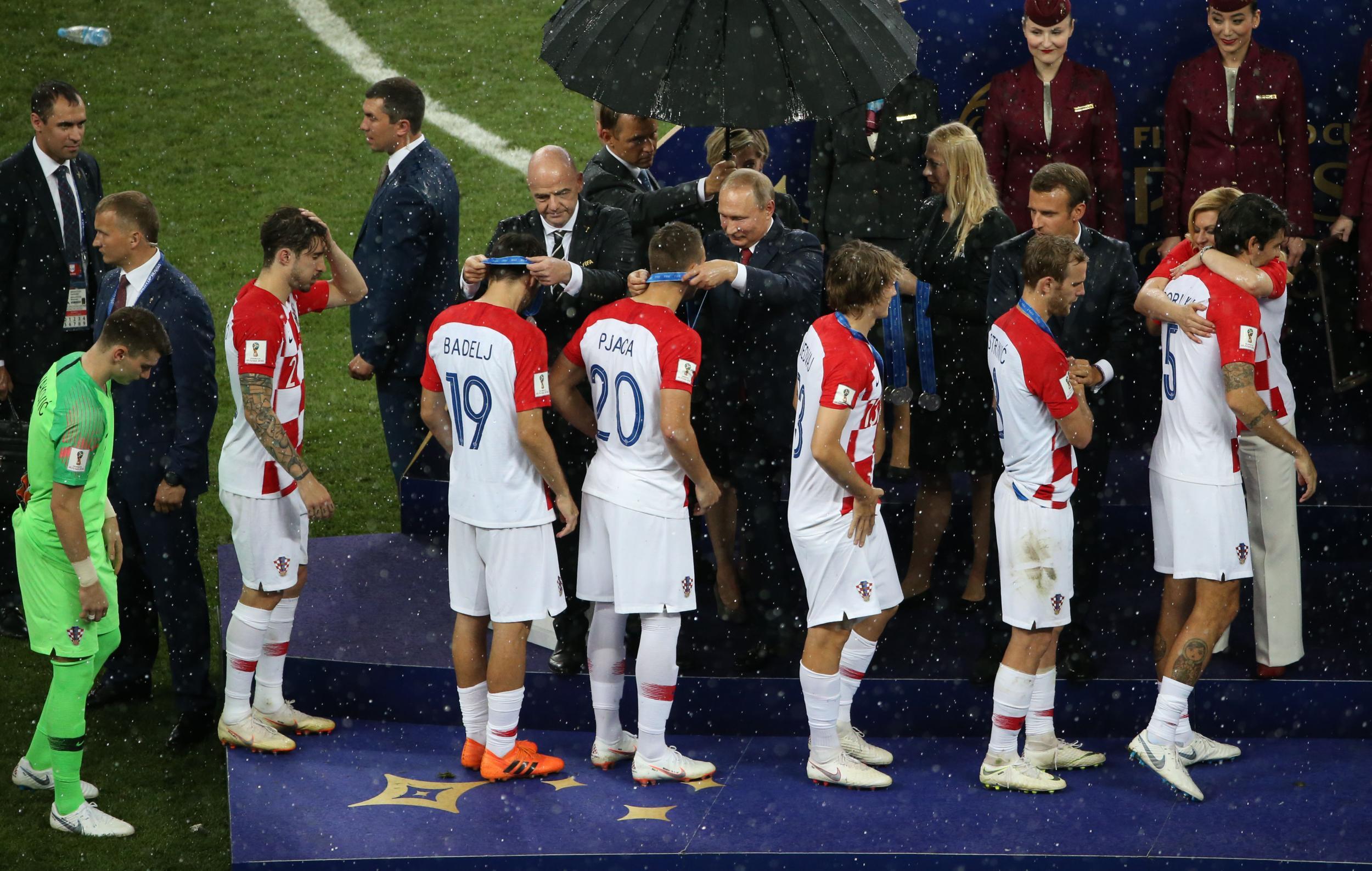 世界杯|克罗地亚队获得亚军