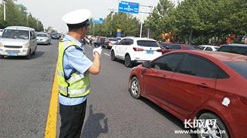 沧州市交通拥堵指数连续4个月下降