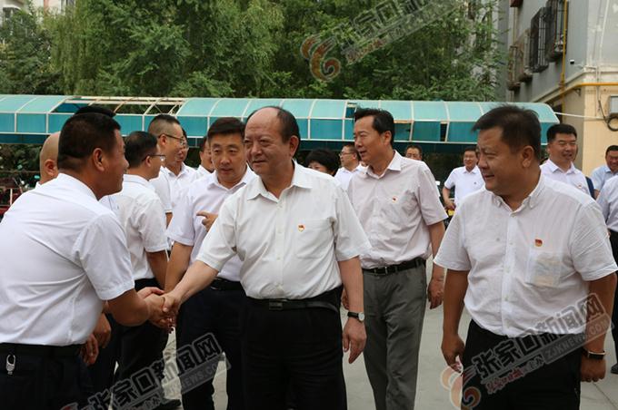 回建率张家口市党政代表团赴新疆考察对口支援工作