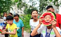 河北邯郸:乐享夏日清凉
