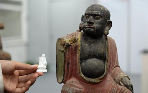 陕西历史博物馆三维技术助力文物修复