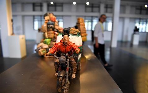 首届平遥国际雕塑节开幕