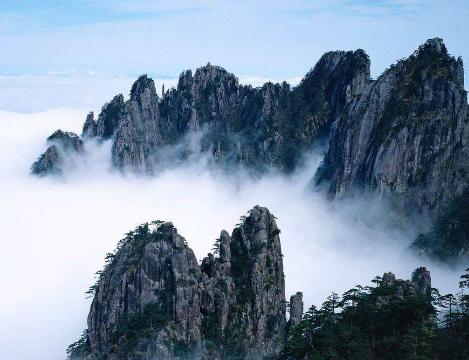 天下名山在五岳