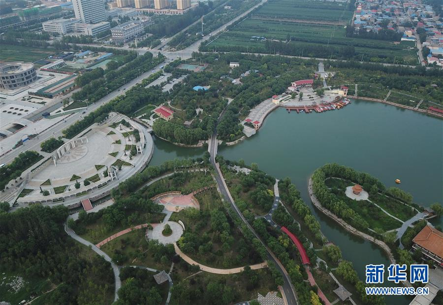 """河北安平:生态优化工程扮美城乡"""""""