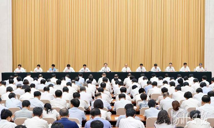 王东峰:奋力开创新时代党的建设和组织工作新局面
