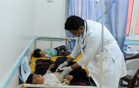 也门霍乱疫情肆虐
