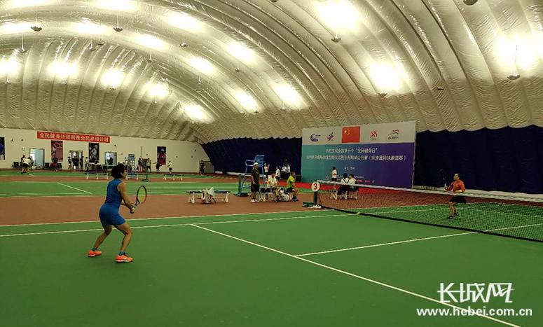 打球不要钱!沧州体育场气膜网球馆今天免费开放!