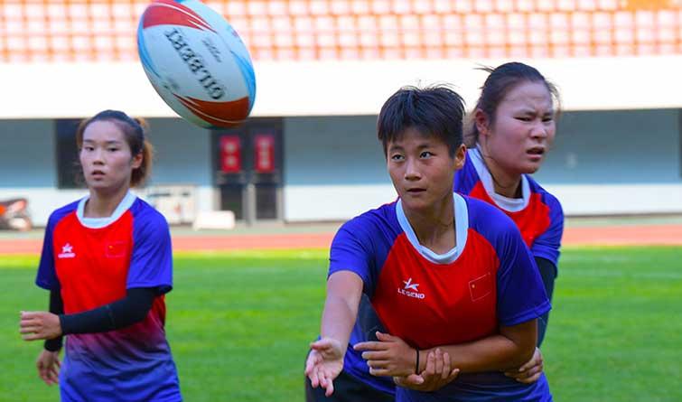 中国女子橄榄球队:亚冠之梦 迁安起航