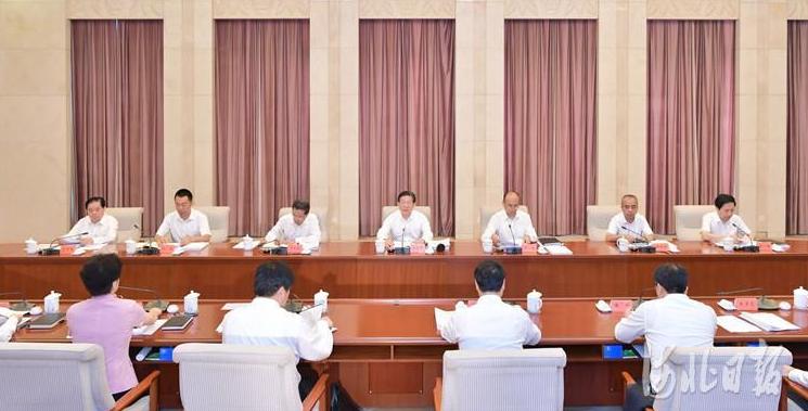 河北省委常委班子召开巡视整改专题民主生活会