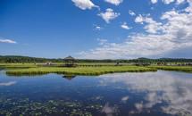 承德七星湖湿地公园风景如画