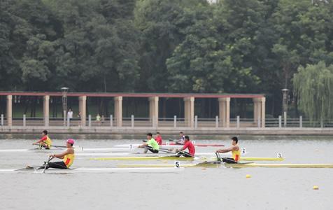 【高清图组】省运会水上项目:百舸争流千帆竞