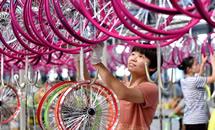 河北广宗:小童车闯荡国际市场