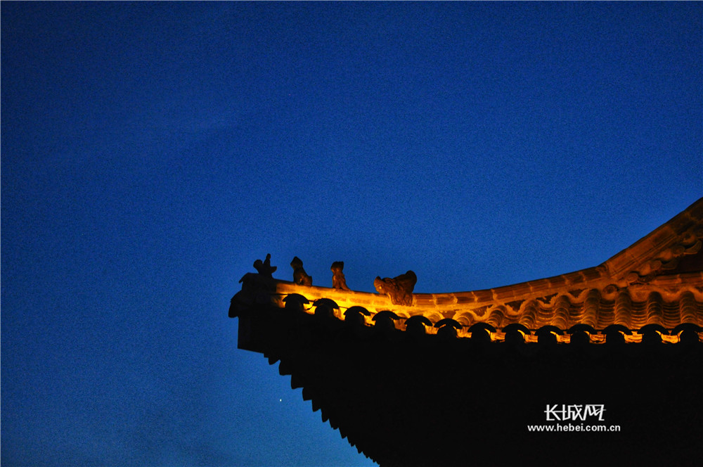 河北省第二届园林博览会园博园——越夜越美丽