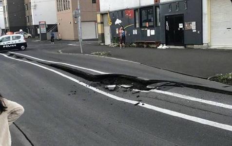 日本北海道6.9级地震致1人死亡