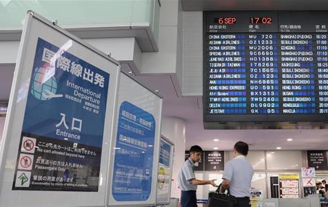 多家航空公司在日本增开赴中国临时航班