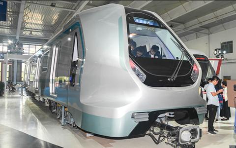 中车长客研制新一代智能地铁列车在长春首次亮相