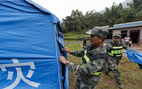 云南墨江地震救援继续进行