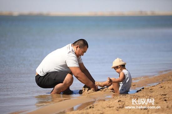 沧州渤海新区十里金沙滩落成
