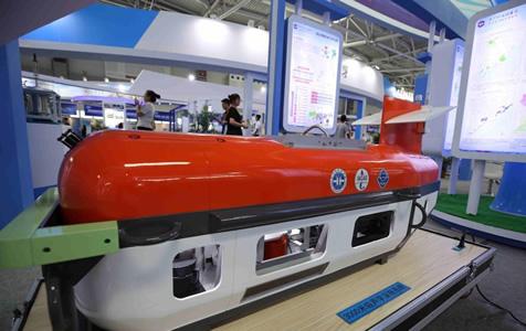 """青岛国际海科展 中国顶级海洋""""黑科技""""亮相"""