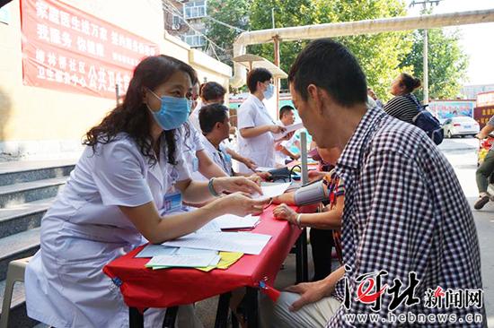 邯郸丛台区:家庭医生守护居民健康