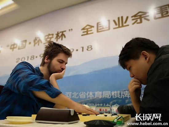 """最高奖励6万元!<br>第六届""""中国·怀安杯""""全国业余围棋公开赛开赛"""