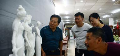 京冀民间艺术品联展在北京宋庄开展