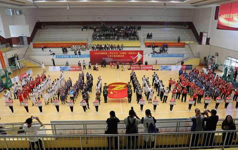 河北首届国际华人中老年篮球邀请赛精彩开打