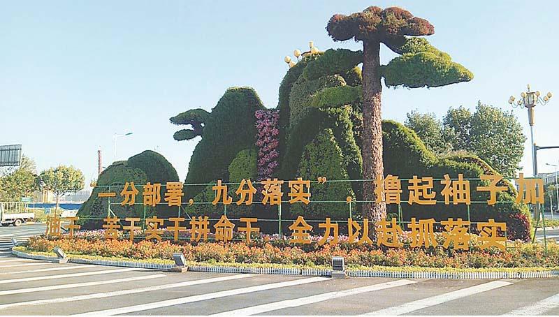 衡水市:200万株(盆)鲜花扮靓湖城