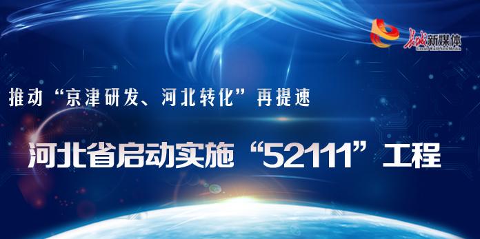 """【图解】河北省启动实施""""52111""""工程"""
