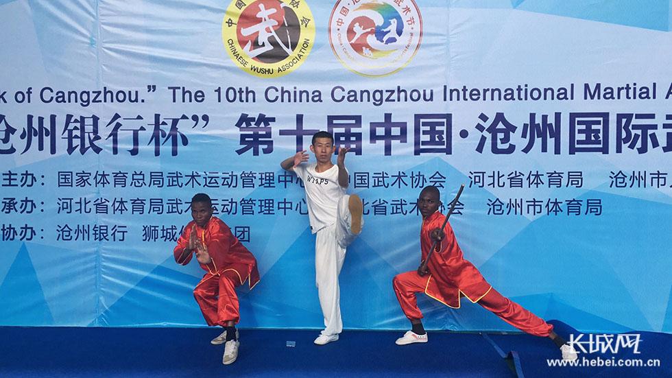 沧州国际传统武术精英赛