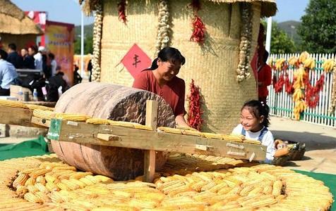 """河北省首届""""中国农民丰收节"""" 在沙河市开幕"""