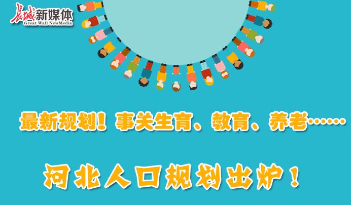 【图解】最新规划!事关生育、教育、养老……河北人口规划出炉!