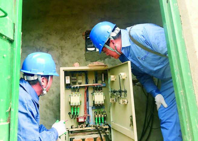 景县供电公司迎接秋季农业用电高峰的到来