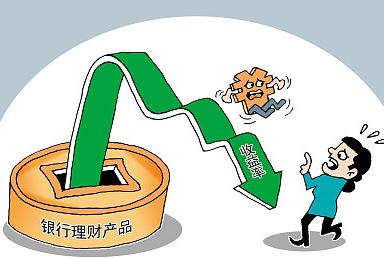 """银行理财产收益及发行量""""双降"""""""