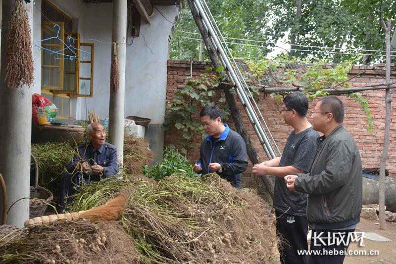 记石家庄市委组织部驻灵寿县西湾村第一书记张凯