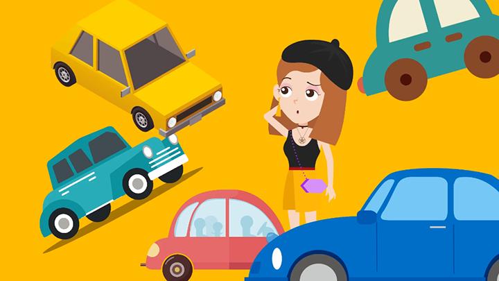 黄金周期间,高速堵车是件让人头疼的事。