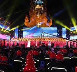 """为祖国而歌 唐山举办首届南湖""""万人同唱一首歌·我爱你中国""""大型景观歌会"""