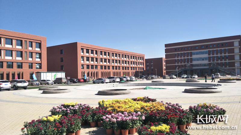 石家庄市职业教育园区一期工程完工在即 已有6所学校搬迁入驻