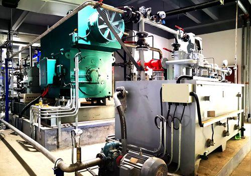全国首座二氧化碳压缩机实验平台在衡水建成投运