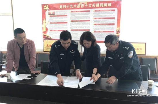 石家庄市散煤管控督导组到栾城区督导检查