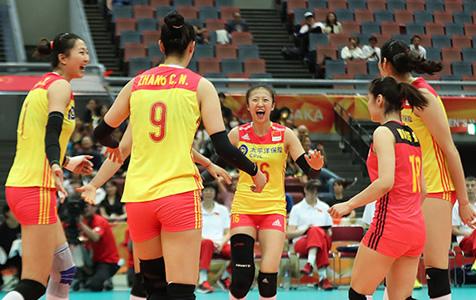 势如破竹!中国女排3比0完胜美国
