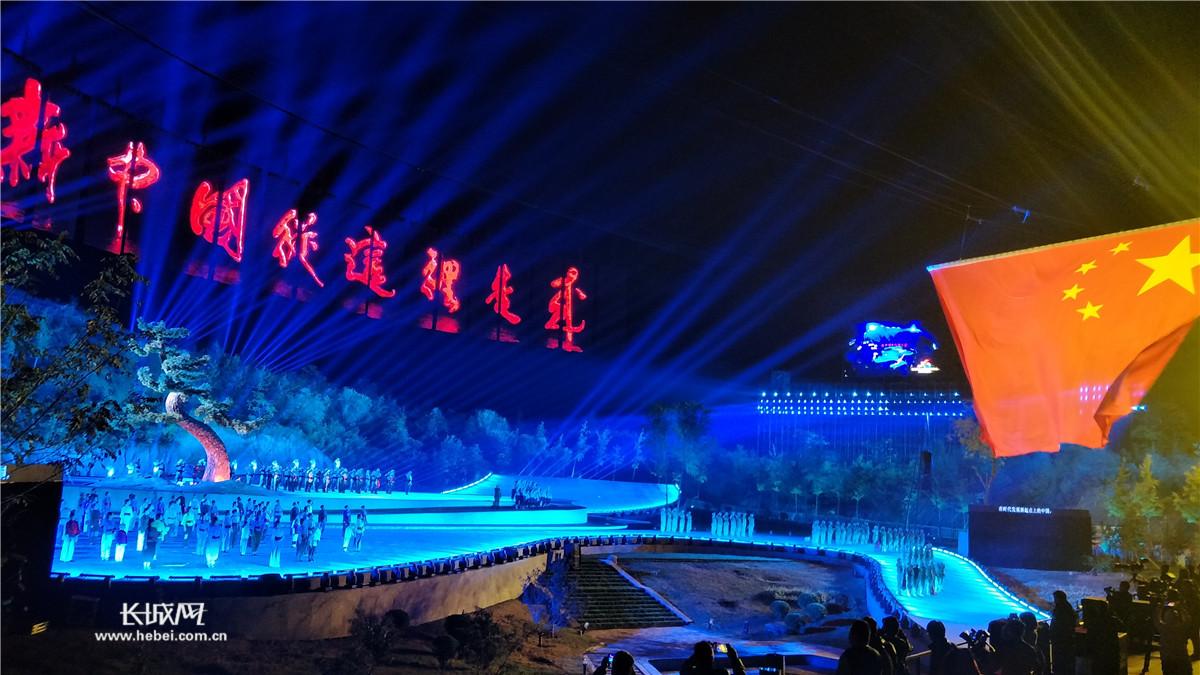 """《新中国从这里走来》实景演出让观者震撼到""""爆"""""""