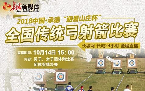 【直播預告】直擊2018全國傳統弓射箭比賽